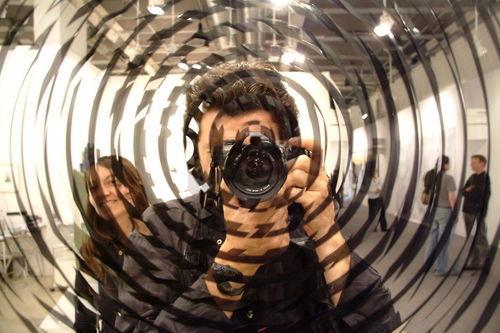 Runde speil på bordet her